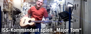 ISS-Kommandeur Chris Hadfield