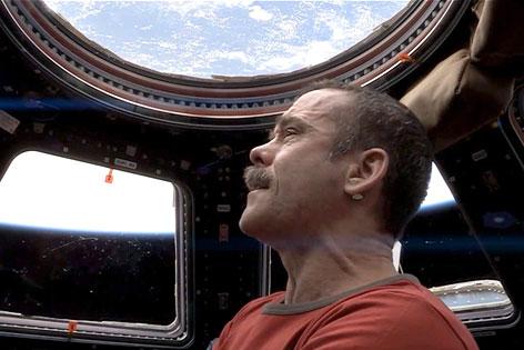 ISS-Kommandeur Chris Hadfield