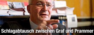 Der Dritte Nationalratspräsident Martin Graf