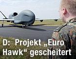 """Deutsche Drohne """"Euro Hawk"""""""