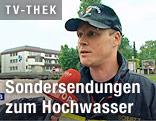 Feuerwehrmann im Interview