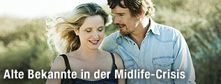 "Julie Delpy und Ethan Hawke in ""Before Midnight"""
