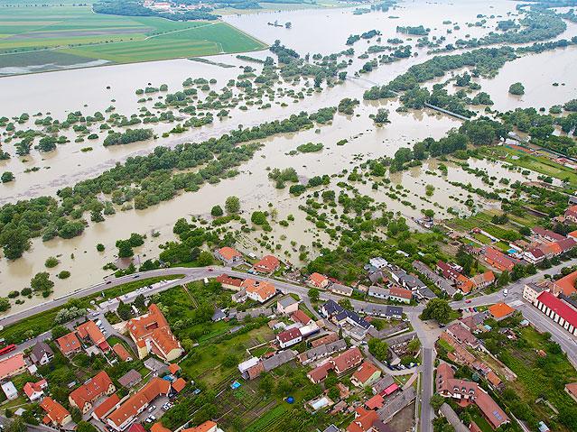 Hochwasser in Marchegg