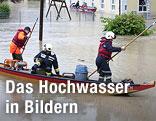 Hochwasser in Ach
