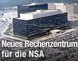 Das NSA-Hauptquartier in Maryland