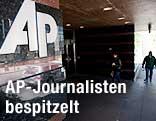Logo der Associated Press (AP) in New York