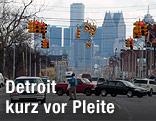 Stadtbild von Detroit