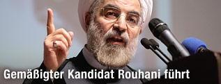 Iranischer Präsidentschaftskandidat Hassan Rohani