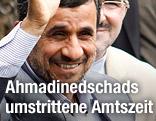 Iranischer Präsident Mahmoud Ahmadinejad