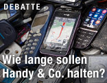 Kaputte Handys