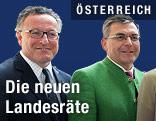 Heinrich Schellhorn (Grüne) und  Josef Schwaiger (ÖVP)