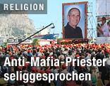 Seligsprechung von Pater Puglisi in Palermo