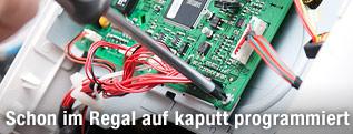 Schraubenzieher und Bestandteil eines Gerätes