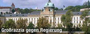 Außenansicht des tschechischen Regierungsgebäudes