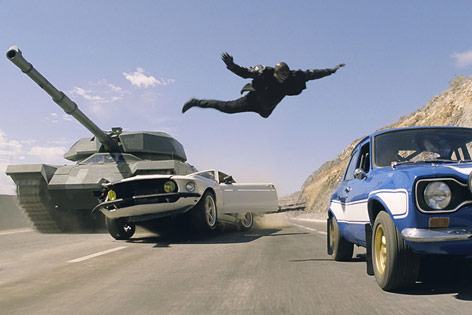 "Szene aus ""Fast & Furious 6"""