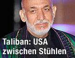 Afghanische Präsident Hamid Karzai