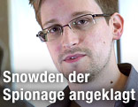 Früherer NSA-Mitarbeiter Edward Snowden