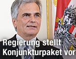 Bundeskanzler Faymann und Vizekanzler Spindelegger