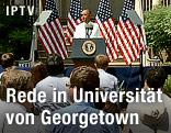US-Präsident Obama vor Publikum