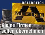 Alpine-Schild