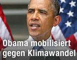 US-Präsident Obama während einer Rede