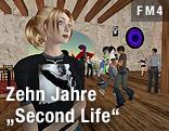 Szene aus Second Life