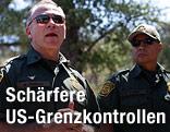 Amerikanische Grenzpolizisten
