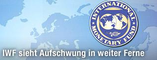 IWF-Logo auf Weltkarte