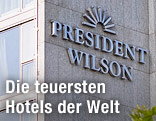 Fassade des Hotels President Wilson