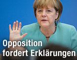 Deutsche Bundeskanzlerin Angela Merkel