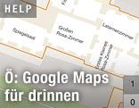 Navigationskarte von Schönbrunn