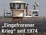 UN-Beobachtungsstützpunkt auf den Golan-Höhen