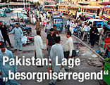 Straßenszene in Pakistan