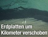 Riss im Meeresboden