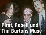 Johnny Depp, Hunter Thompson, und Matt Dillon