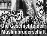 Demonstration der Muslimbrüderschaft in Kairo, 1947