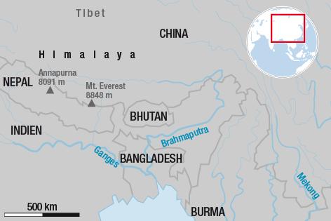 Kate der Himalaya-Region