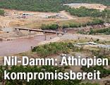 Bauarbeiten am Nil