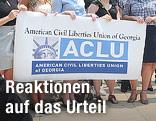Mitglieder der US-Bürgerrechtsorganisation ACLU
