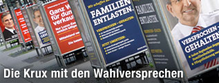 Plakate zur Nationalratswahl 2008