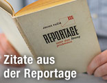 Das Buch Reportage