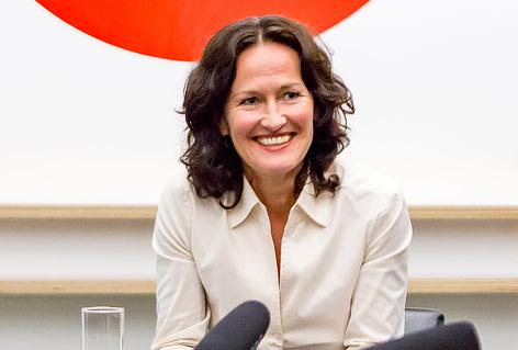 Eva Glawischnig, Spitzenkandidatin der Grünen
