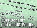 Geburtsurkunde von Barack Obama