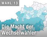Grafik zeigt Österreich