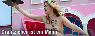 Femen-Aktivistin