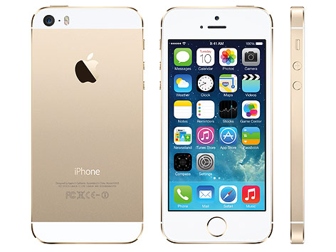Apple Iphone 5S in Gold