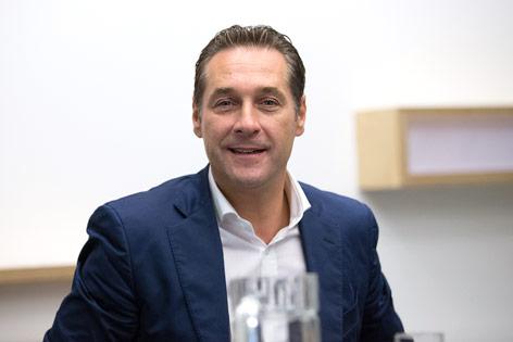 FPÖ-Obmann Heinz-Christian Strache