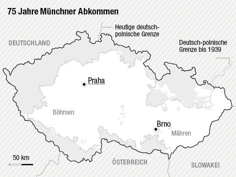 München Karte Deutschland.Das Münchner Abkommen 1938 News Orf At
