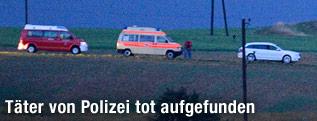 Einsatzfahrzeuge in Annaberg