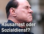 Premier Silvio Berlusconi